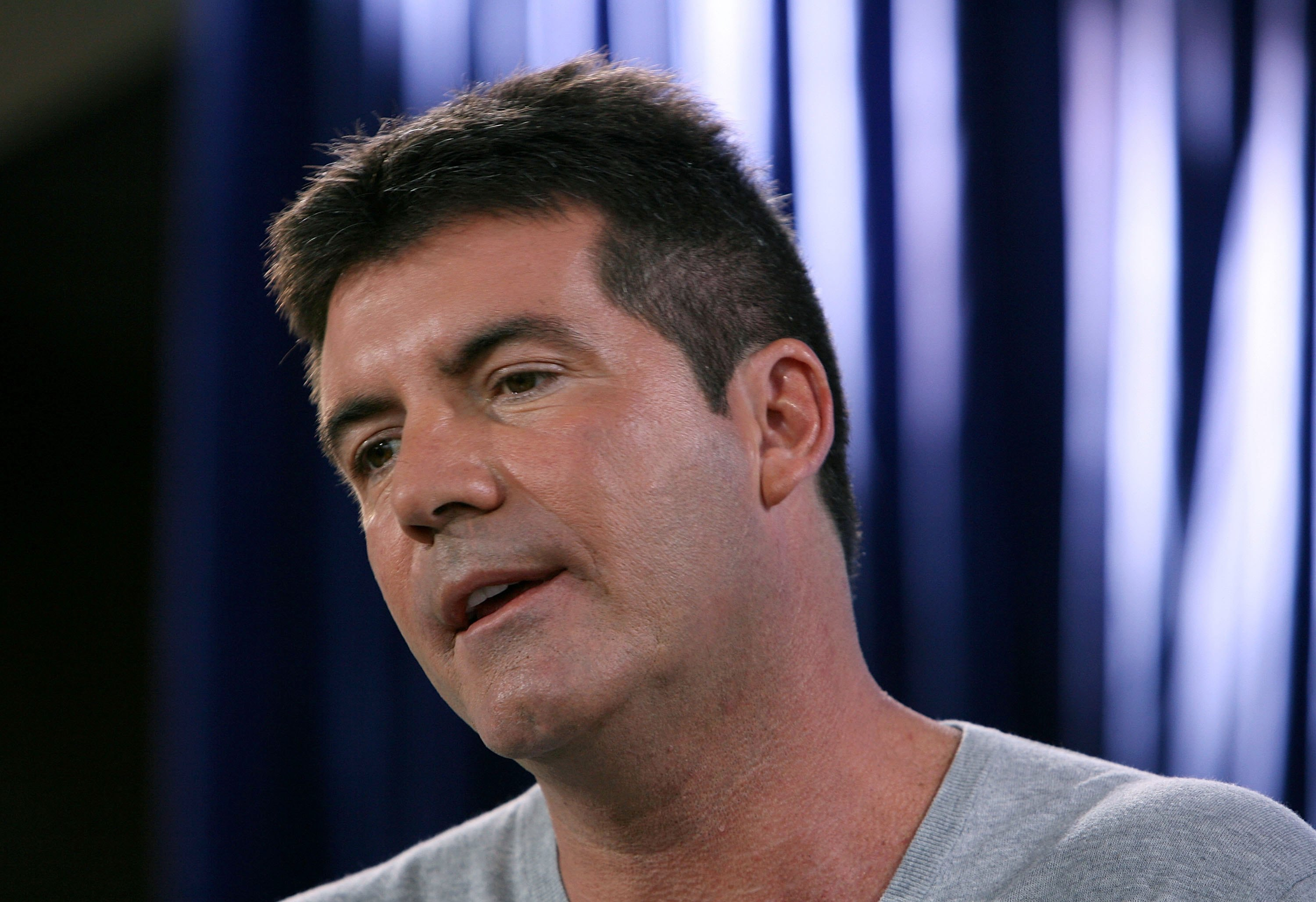 Simon Cowell as a judge.