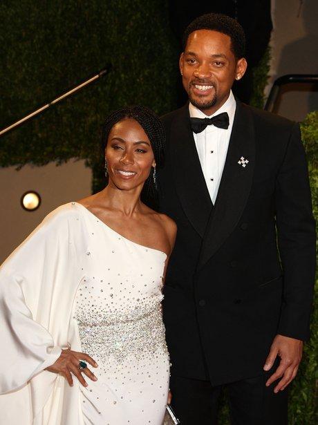 Will Smith and Jada Pinkett Smith at The Oscars 20