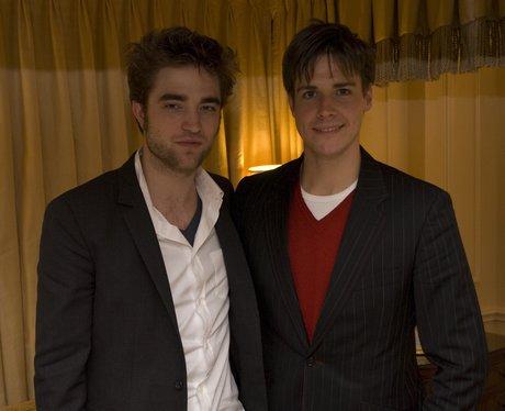 Kevin hughes with Robert Pattinson