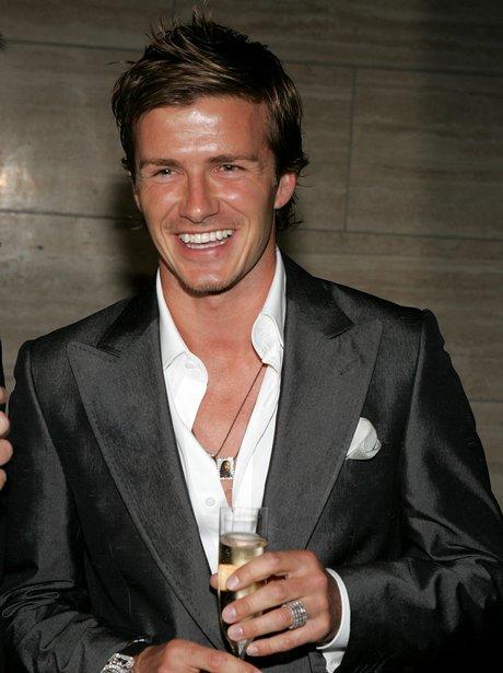 No.1 David Beckham