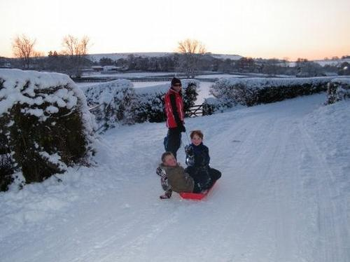 Your photos of the snow...