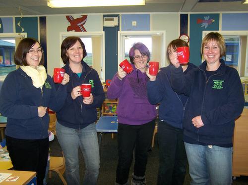 The staff at Norton Pre School