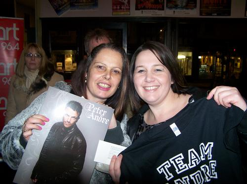Peter Andre at the Ipswich Regent Gallery - 07