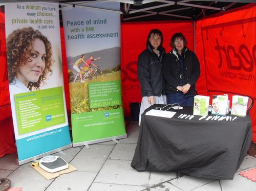 Out and about with Bath BMI
