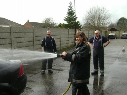 Fire Fighters Charity National Car Wash - Great Ya