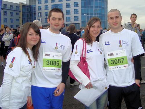 Reading Half Marathon and Green Park Challenge