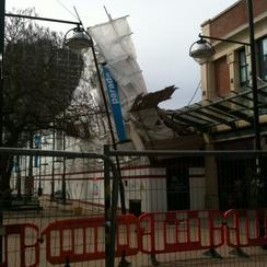 BHS collapsed in Swindon