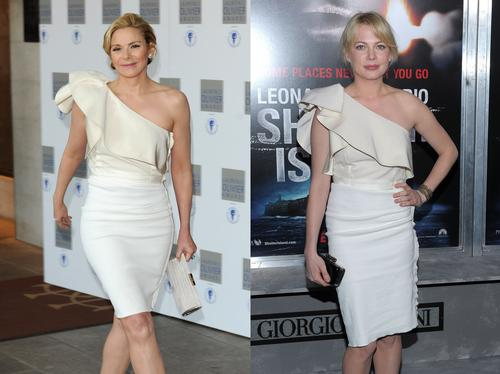 Kim Cattrall and Michelle Williams