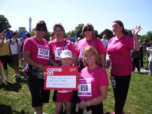 Race for Life - Regents Park