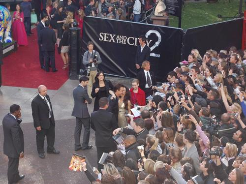 Sex and the City 2 London premiere