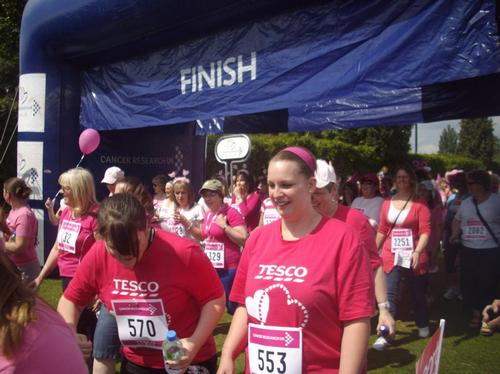 Race for Life Winchester - The Run