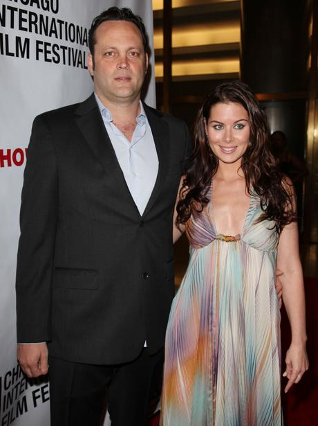 Vince Vaughn and Kyla Weber on the red carpet