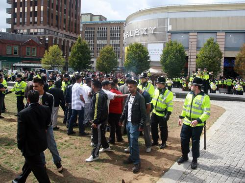 Clashes in Luton after hearing