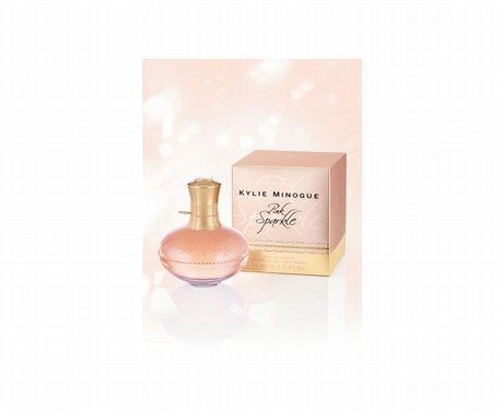 Kylie Minogue's new perfume Pink Sparkle