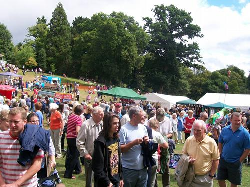 cockington village fair