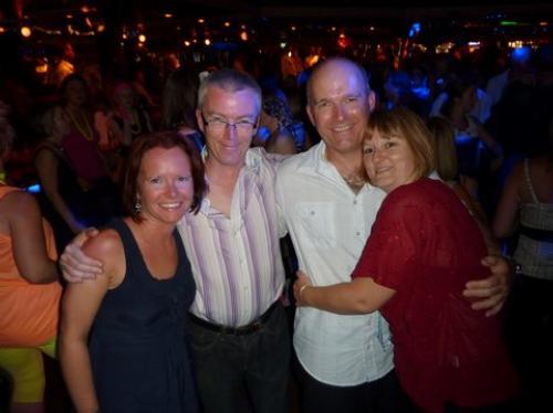Rob & Chrissie's 80's Night July