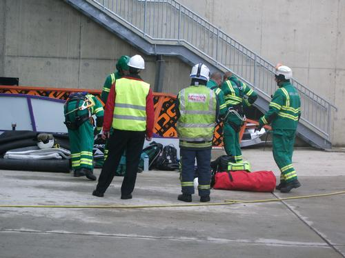 Accident Exercise at The Snow Centre