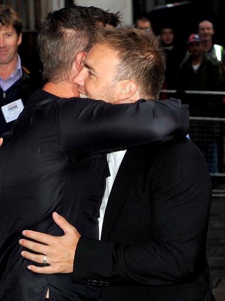 Robbie Williams and Gary Barlow