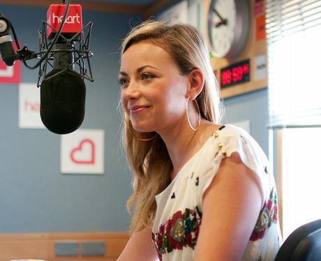 charlotte church with Jamie and harriet in heart