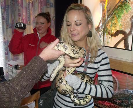 Warrens snake visit