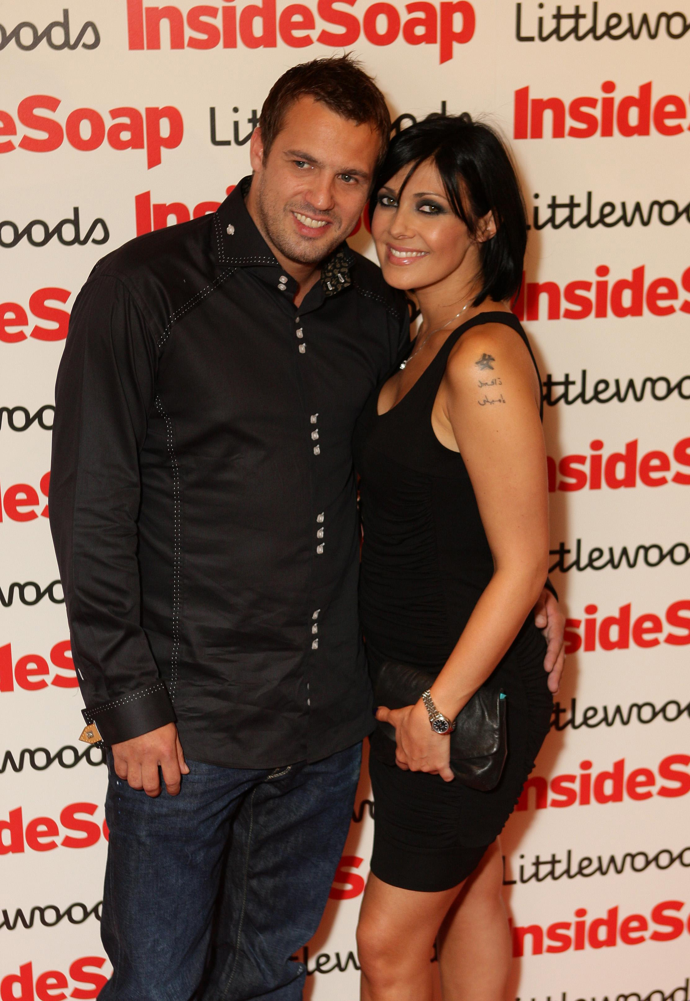 Kym Marsh and Jamie Lomas