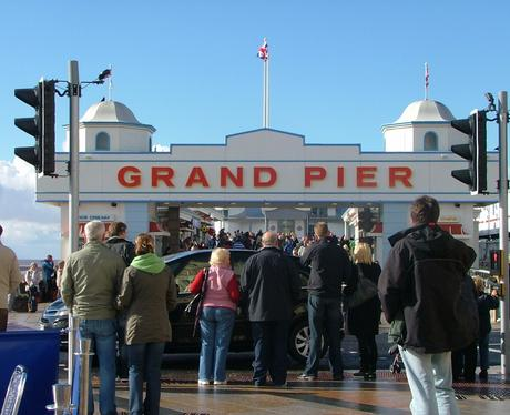 Snapped at Weston-Super-Mare Grand Pier