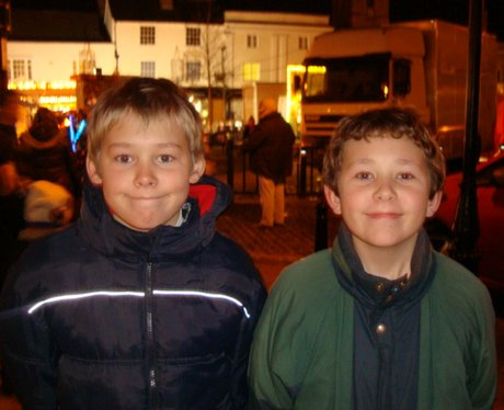 Abingdon Christmas Lights switch on