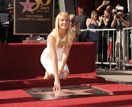 gwyneth paltrow on The Hollywood Walk of Fame