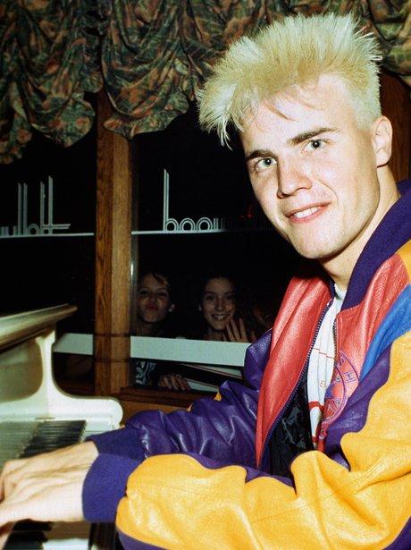 Gary Barlow of pop group Take That