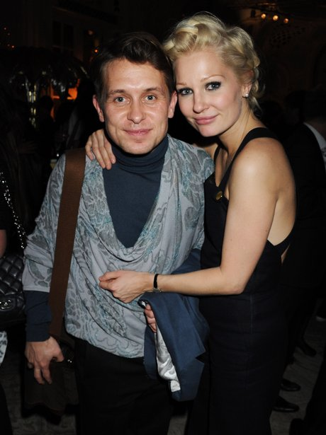 Mark Owen and Emma Ferguson