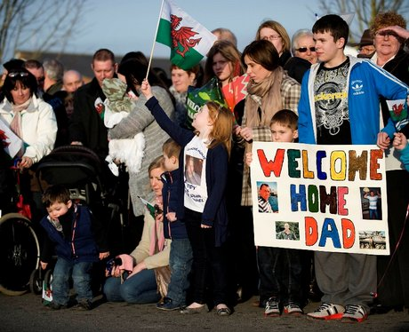 Royal Welsh return from Afghanistan