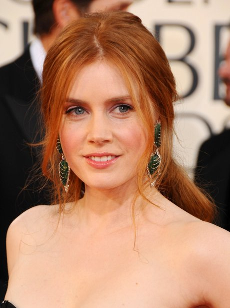 Amy Adams with long red hair