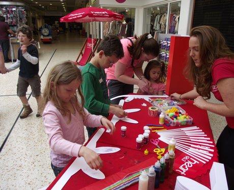 Heart & Broadwalk Shopping Centre Easter treats