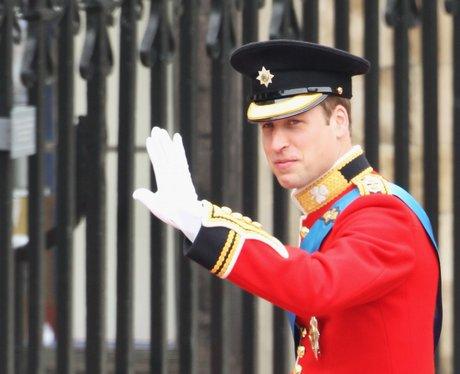 Prince William clean shaven