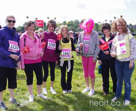 Race for Life - Shrewsbury 22/5/11