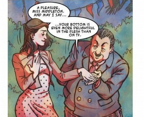 Pippa Middleton comic