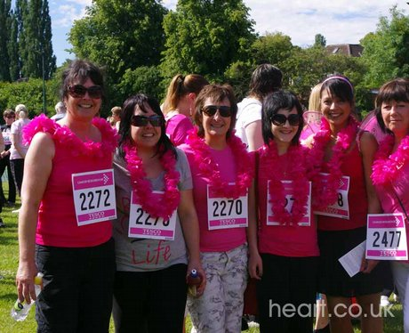 Race for Life - Walsall 26/6/11