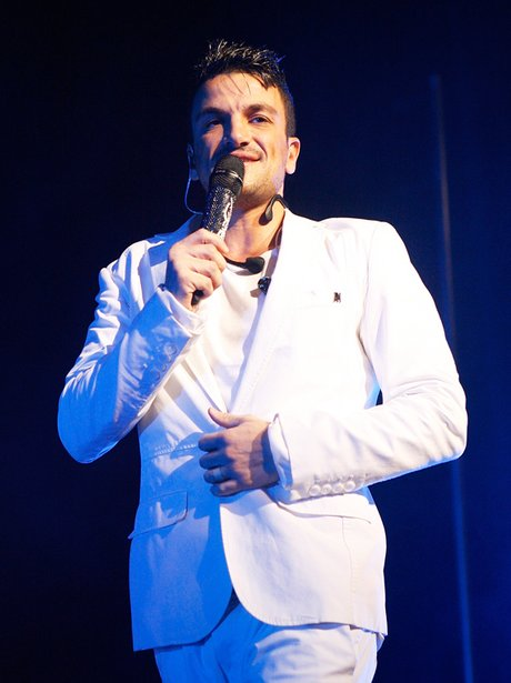 peter andre live