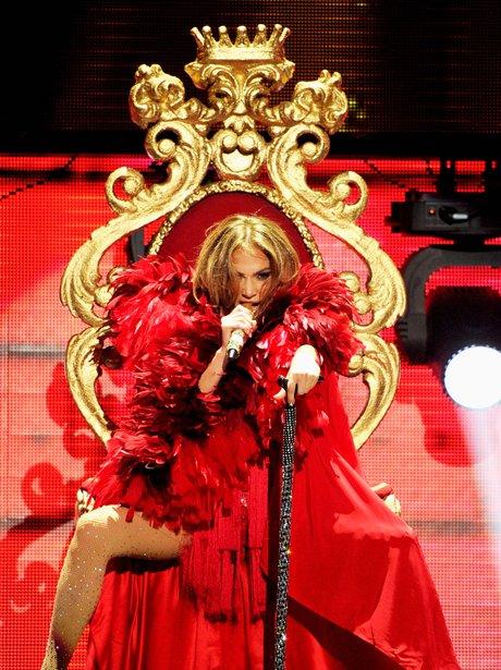 Jennifer Lopez live