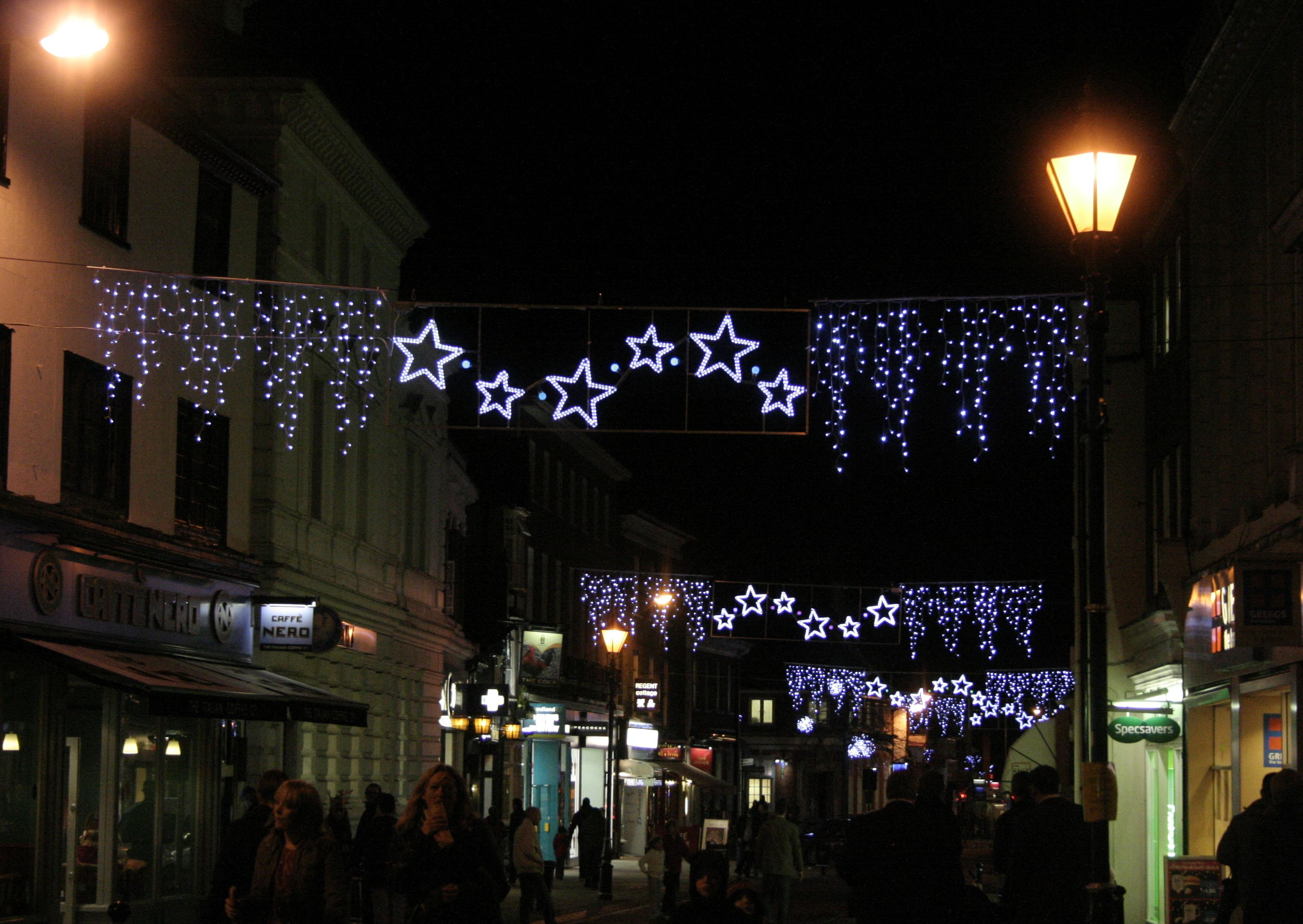 Hitchin Christmas Lights