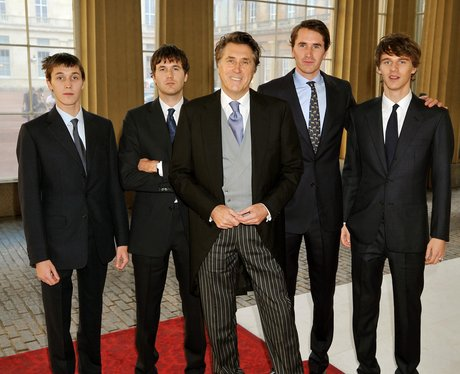 Bryan Ferry receives CBE