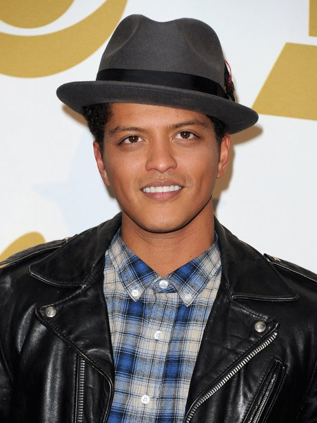 Bruno mars at the Grammy Nominations Concert