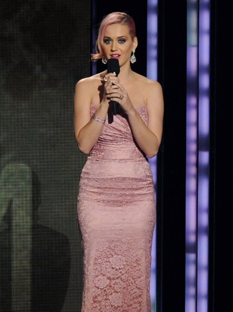Katy perry appears at the Grammy nominations Conce