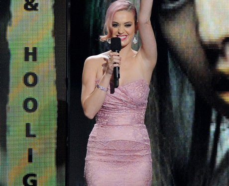 Katy Perry appaears at the Grammy Nominations Conc