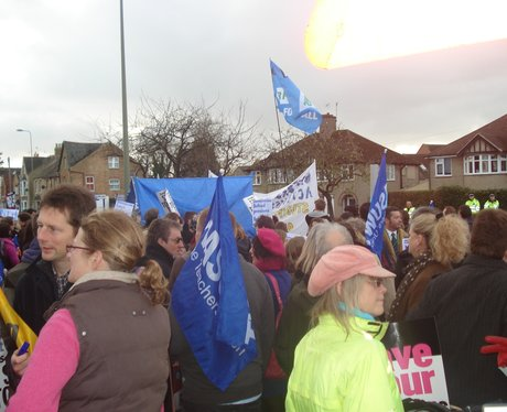 Strikes in the Thames Valley 30th November