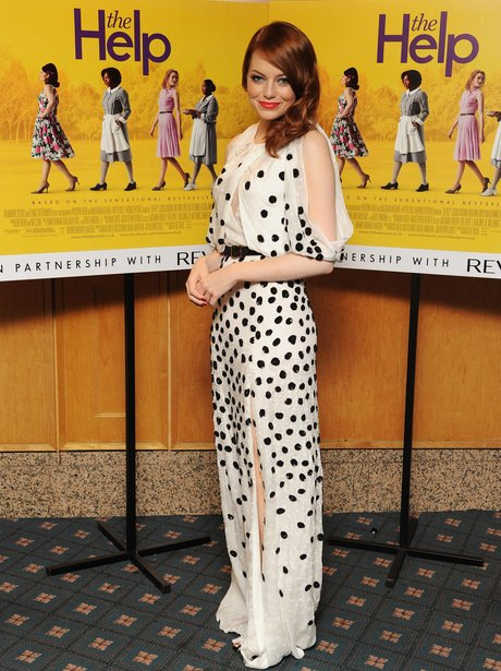 Emma Stone at The Help premiere