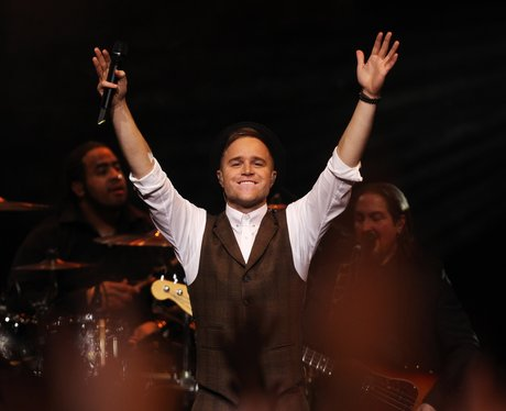 Gary Barlow live on stage