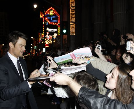 "Josh Duhamel arrives at the premiere of ""New Year'"