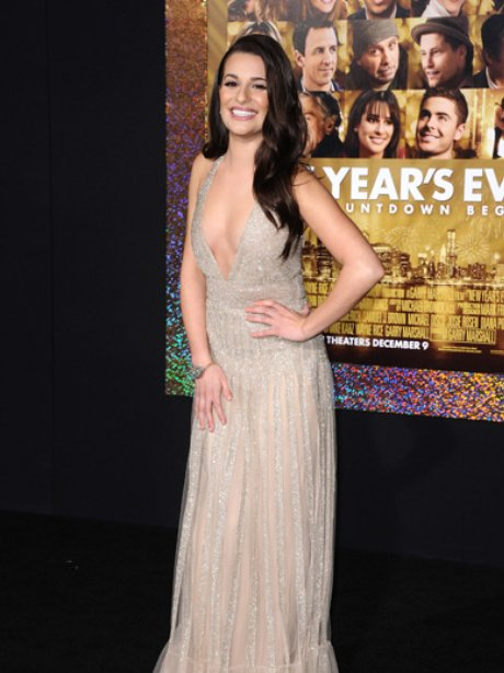 Lea Michele New Year's Eve Premiere