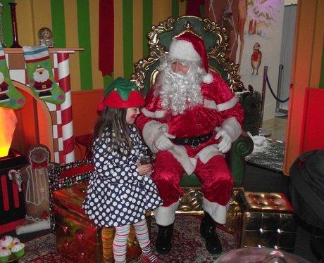 Santa at West Quay